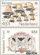 Nederland NL 1225#1226  1981 C.E.P.T.- Folklore  cent  Gestempeld