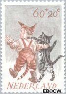 Nederland NL 1276  1982 Kind en dier 60+20 cent  Gestempeld