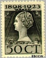 Nederland NL 128  1923 Koningin Wilhelmina- Regeringsjubileum 50 cent  Gestempeld