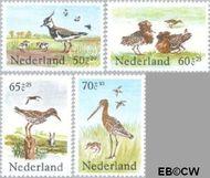 Nederland NL 1301#1304  1984 Weidevogels  cent  Gestempeld