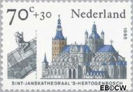Nederland NL 1327  1985 Kerken 70+30 cent  Gestempeld