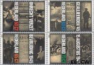 Nederland NL 1329#1332  1985 Verzet en bevrijding  cent  Gestempeld