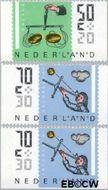 Nederland NL 1352a#1352x  1986 Meetinstrumenten  cent  Gestempeld