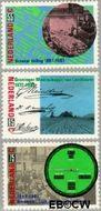 Nederland NL 1378#1380  1987 Land- en tuinbouw  cent  Gestempeld