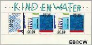 Nederland NL 1418  1988 Kindertekeningen  cent  Gestempeld