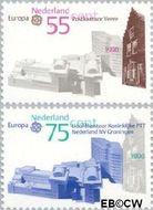 Nederland NL 1451#1452  1990 C.E.P.T.- Postkantoren  cent  Gestempeld