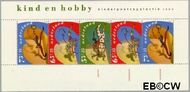 Nederland NL 1460  1990 Kind en hobby  cent  Gestempeld