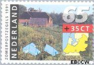 Nederland NL 1469  1991 Boerderijen 65+35 cent  Gestempeld