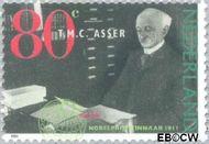 Nederland NL 1480  1991 Nobelprijswinnaars 80 cent  Gestempeld