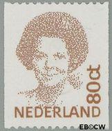 Nederland NL 1489a  1991 Koningin Beatrix- Type 'Inversie' 80 cent  Gestempeld