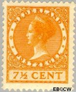 Nederland NL 151  1925 Koningin Wilhelmina- Type 'Veth' 7½ cent  Gestempeld
