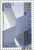 Nederland NL 1525  1992 Bond architecten 60 cent  Postfris