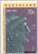 Nederland NL 1529#  1992 Genootschap Munt- en Penningkunde  cent  Gestempeld