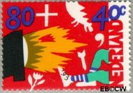 Nederland NL 1577  1993 Kind en media 80+40 cent  Gestempeld