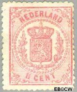 Nederland NL 16  1869 Rijkswapen 1½ cent  Gestempeld