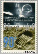 Nederland NL 1613  1994 Eerste mens op de maan 90 cent  Gestempeld