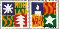 Nederland NL 1628#1629  1994 Gereduceerd tarief  cent  Gestempeld