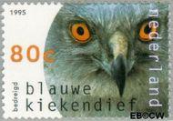 Nederland NL 1650  1995 Roofvogels 80 cent  Gestempeld