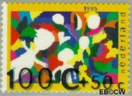 Nederland NL 1660  1995 Computertekeningen 100+50 cent  Postfris
