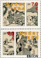 Nederland NL 1677a#1677b  1996 Strippostzegels Heer Bommel  cent  Gestempeld