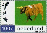 Nederland NL 1712  1997 Natuurlijk Landschapsbeheer 100 cent  Gestempeld