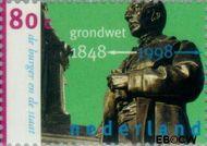 Nederland NL 1754  1998 Grondwet 80 cent  Gestempeld