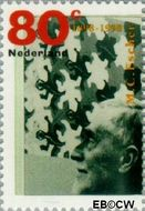 Nederland NL 1770  1998 Escher, M. 80 cent  Postfris