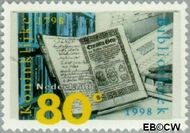 Nederland NL 1772  1998 Koninklijke Bibliotheek 80 cent  Gestempeld