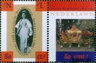 Nederland NL 1778a#1778b  1998 Oranjevorstinnen  cent  Gestempeld