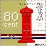 Nederland NL 1810#  1999 Nationaal Postbedrijf  cent  Gestempeld