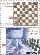 Nederland NL 1969a#1969b  2001 Euwe, Max  cent  Postfris