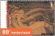 Nederland NL 1977  2001 Nieuwe kunst 80 cent  Gestempeld