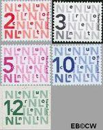 Nederland NL 2034#2035  2002 Bijplakzegels  cent  Gestempeld