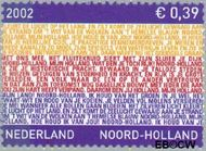 Nederland NL 2067  2002 Provincie- zegel Noord-Holland 39 cent  Gestempeld