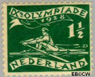 Nederland NL 212  1928 Olympische Spelen- Amsterdam 1½+1 cent  Postfris