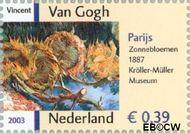 Nederland NL 2144  2003 Vincent van Gogh 39 cent  Gestempeld
