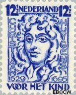 Nederland NL 223  1928 Huygens, Chr. 12½+3½ cent  Gestempeld