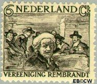 Nederland NL 230  1930 Vereniging Rembrandt 6+5 cent  Gestempeld