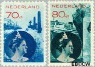 Nederland NL 236#237  1931 Economie   cent  Gestempeld