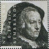 Nederland NL 2430  2006 Rembrandt 39 cent  Gestempeld