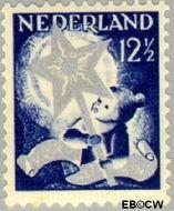 Nederland NL 264  1933 Drie-koningenfeest 12½+3½ cent  Postfris