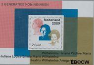 Nederland NL 2642  2009 3 generaties Koninginnen  cent  Gestempeld