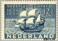 Nederland NL 268  1934 Nederlands bewind Curaçao 12½ cent  Gestempeld