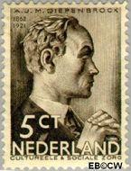 Nederland NL 275  1935 Bekende personen 5+3 cent  Gestempeld