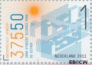 Nederland NL 2796  2011 Universiteit van Utrecht 1 cent  Gestempeld