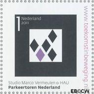 Nederland NL 2805  2011 Stad van Nederland 1 cent  Gestempeld