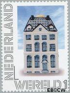 Nederland NL 2899  2012 Delftsblauw Wereld 1 cent  Gestempeld