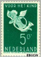 Nederland NL 290  1936 Bazuinengel 5+3 cent  Gestempeld