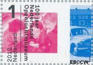 Nederland NL 2917  2012 Nederlands Openluchtmuseum 100 jaar 1 cent  Gestempeld