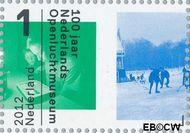 Nederland NL 2922  2012 Nederlands Openluchtmuseum 100 jaar 1 cent  Gestempeld